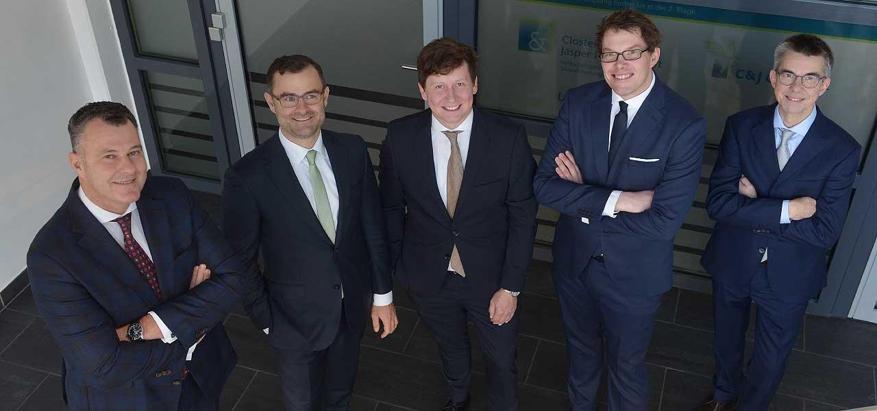 Clostermann & Jasper Partnerschaft - Das Team